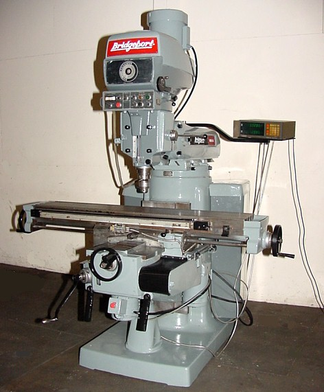 Bridgeport Mill For Sale >> 58 Table 4hp Spindle Bridgeport Series Ii Vertical Mill Vari Speed