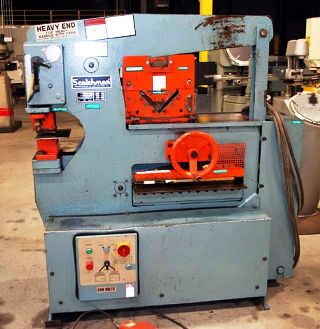 65 Ton 9 Throat Scotchman 6509 IRONWORKER For Sale 15452 In Category Ironworkers