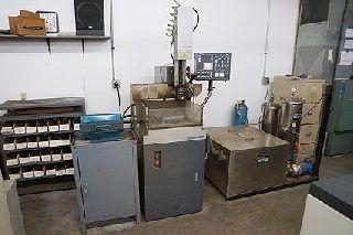 Current EDM CT-300 EDM HOLE DRILLER, CNC MACHINE, EBBCO